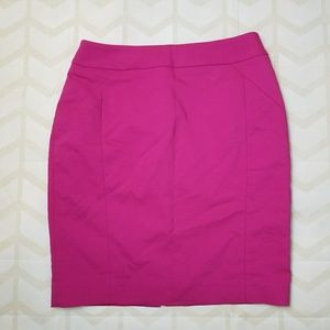 H&M Fuschia Skirt Size 8